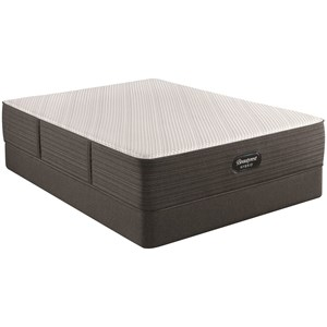 "Queen 13"" Plush Hybrid Mattress and 9"" Foundation"