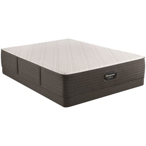 "King 13"" Plush Hybrid Mattress and 5"" Low Profile Foundation"