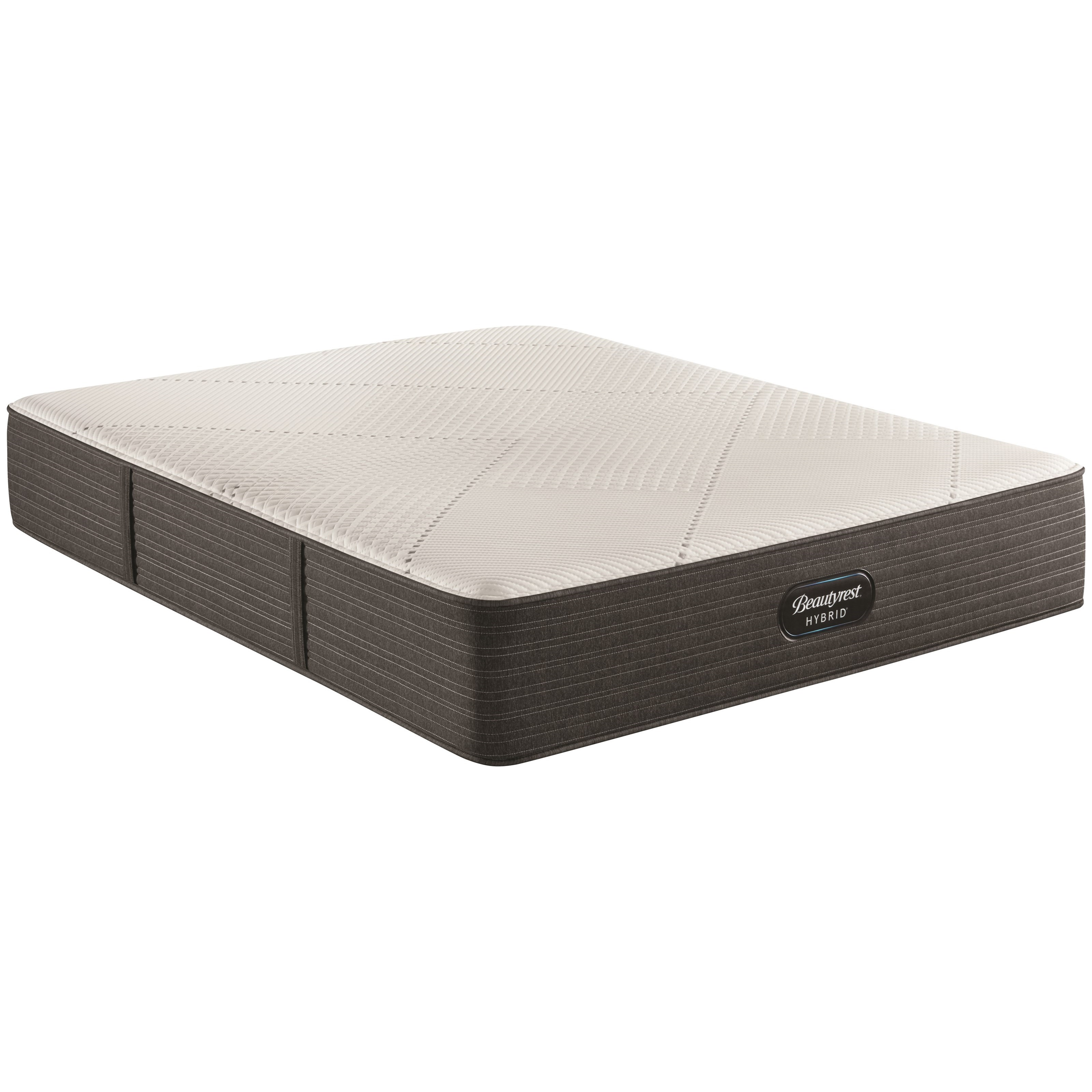 "BRX1000-IP Medium Full 13 1/2"" Hybrid Mattress by Beautyrest at Houston's Yuma Furniture"