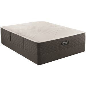 "Queen 13 1/2"" Plush Hybrid Mattress and 9"" Foundation"