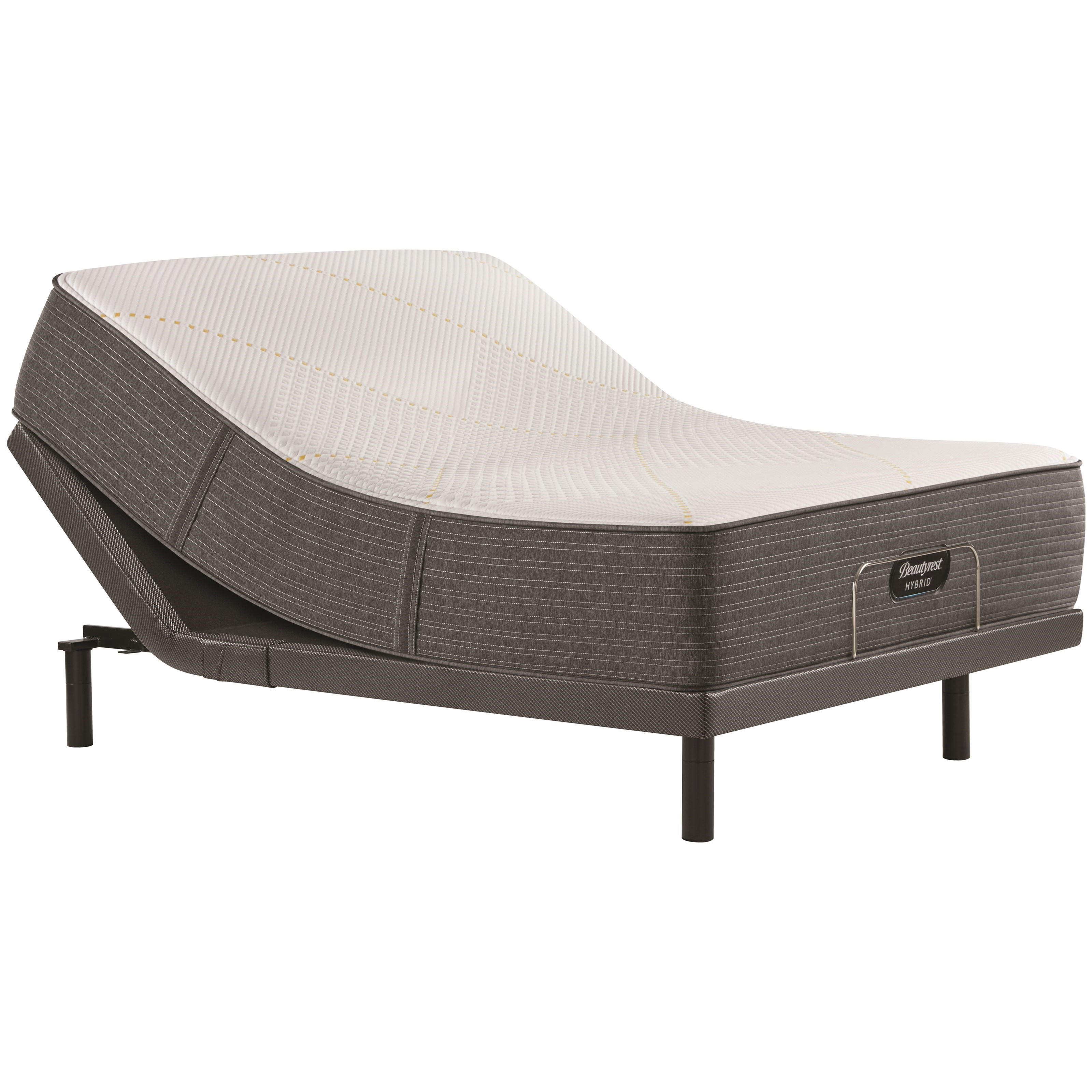"Beautyrest Hybrid 3000 Ultra Plush King 14 1/2"" Hybrid Adj Set by Beautyrest at Gill Brothers Furniture"
