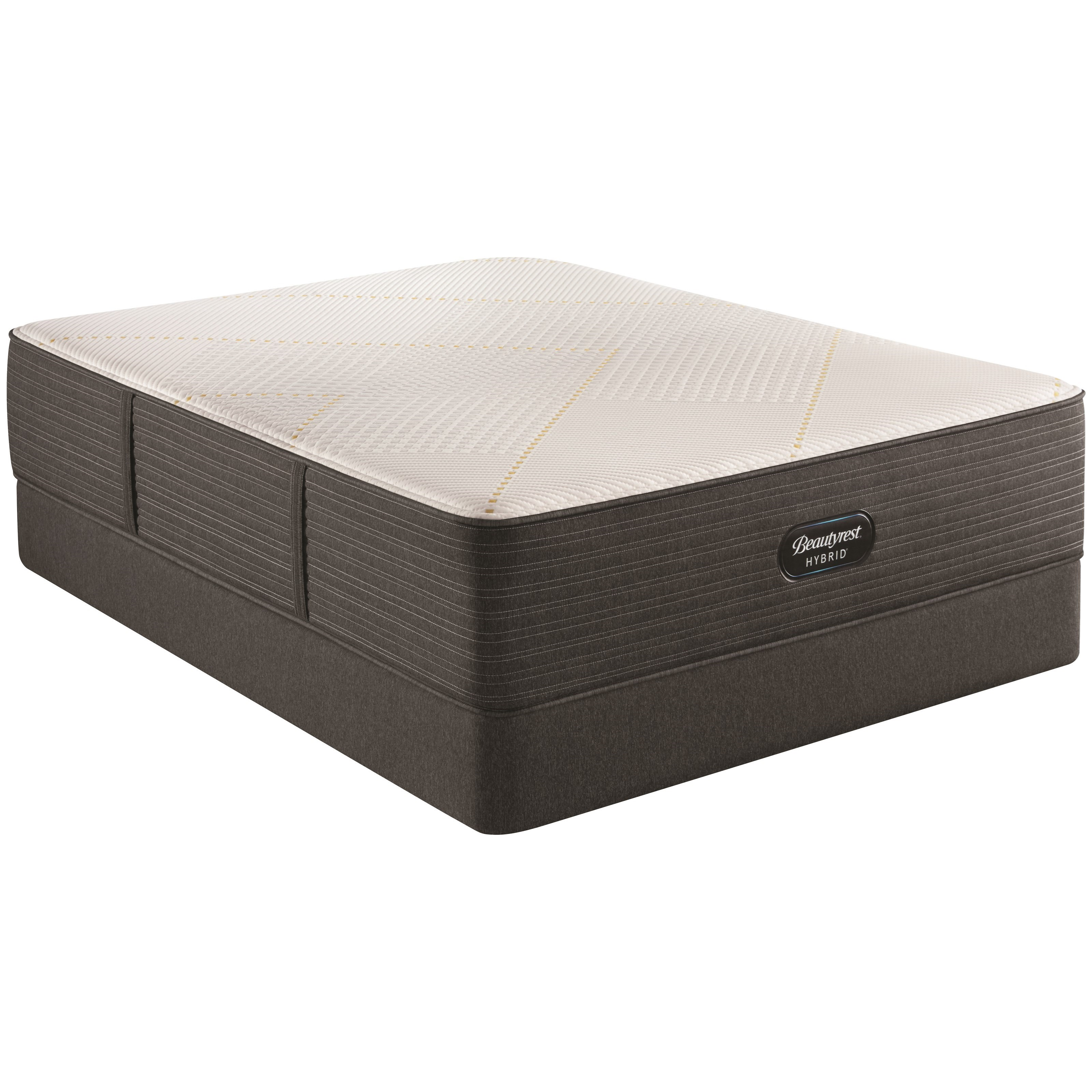 "BRX3000-IM Medium Firm Hybrid Twin 14 1/2"" Hybrid Mattress Set by Beautyrest at HomeWorld Furniture"