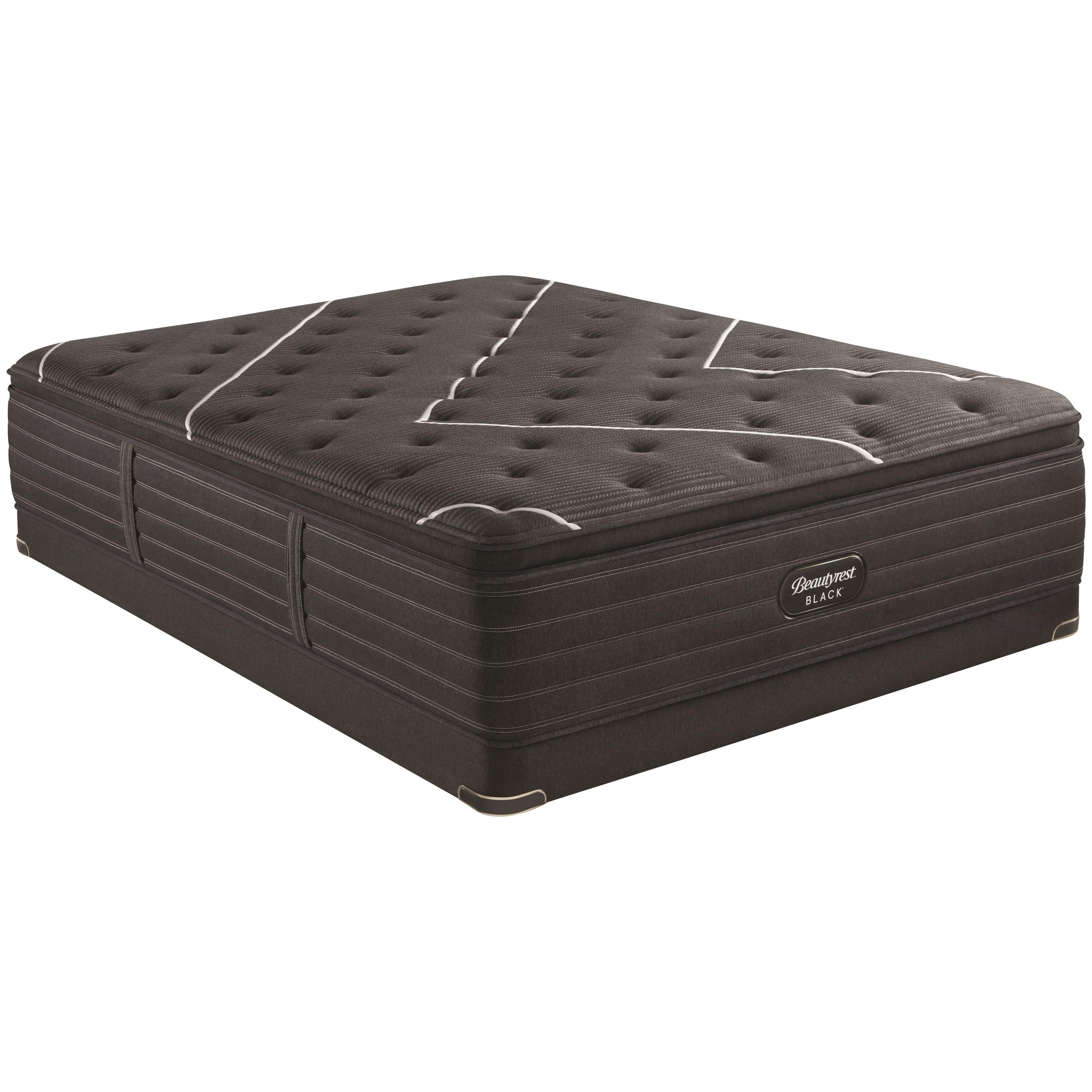 """K-Class Firm Pillow Top Cal King 17 1/2"""" Premium Adj Set by Beautyrest at HomeWorld Furniture"""