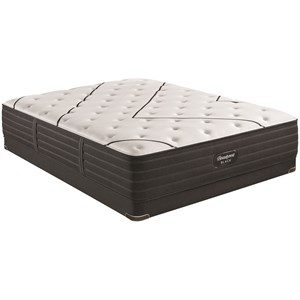 "Twin Extra Long 14 1/4"" Medium Premium Mattress and BR Black 5"" Low Profile Foundation"
