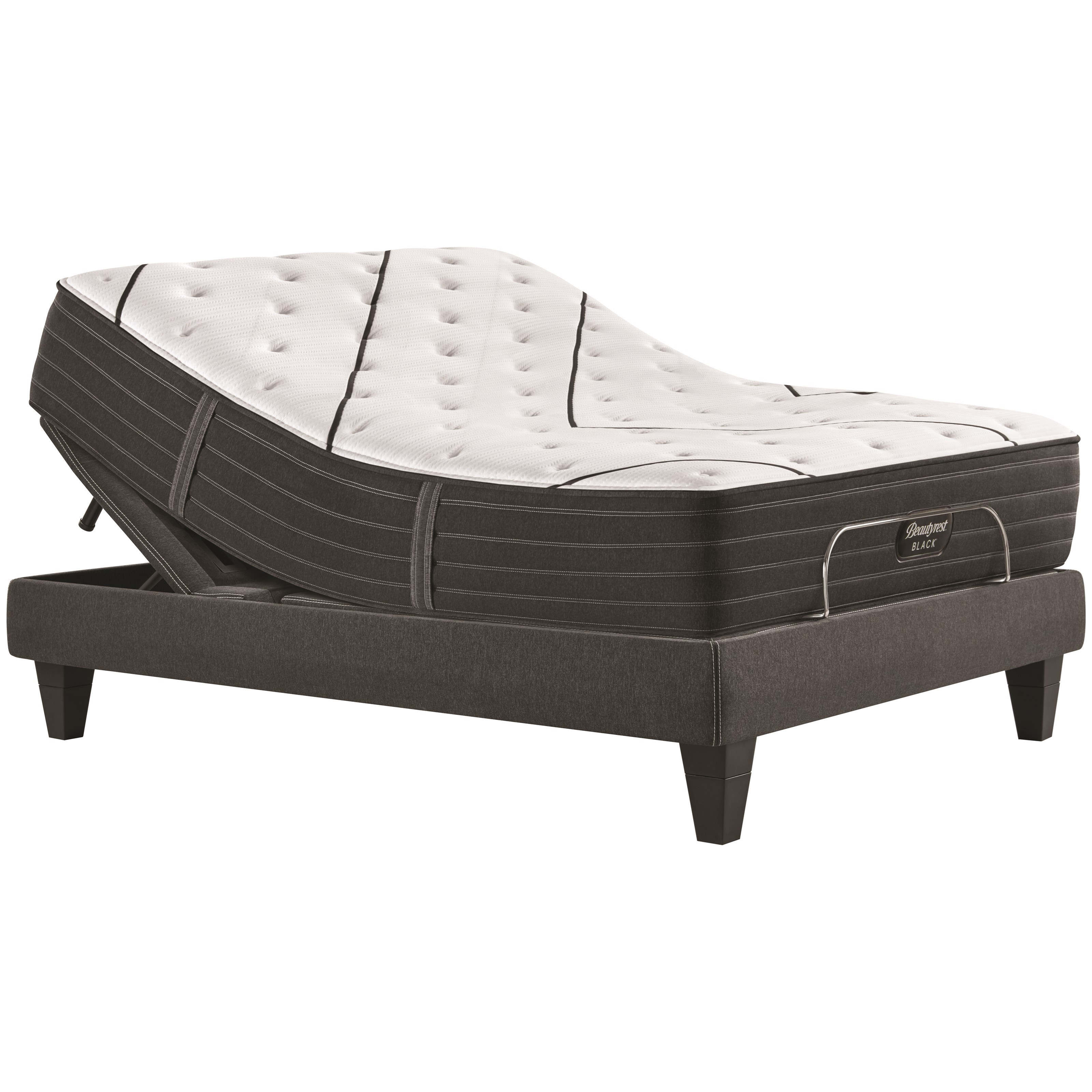 "L-Class Plush Full 14"" Premium Pocketed Coil Adj Set by Beautyrest at A1 Furniture & Mattress"