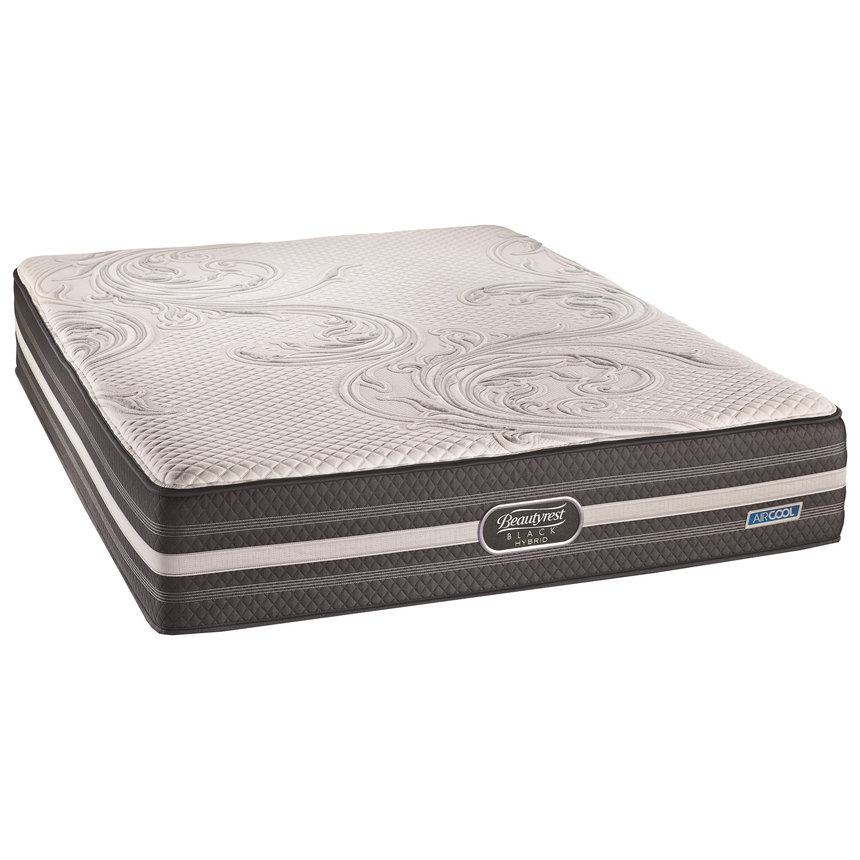 BR Black Hybrid Valentina Lux Firm King Luxury Firm Hybrid Mattress by Beautyrest Canada at Jordan's Home Furnishings