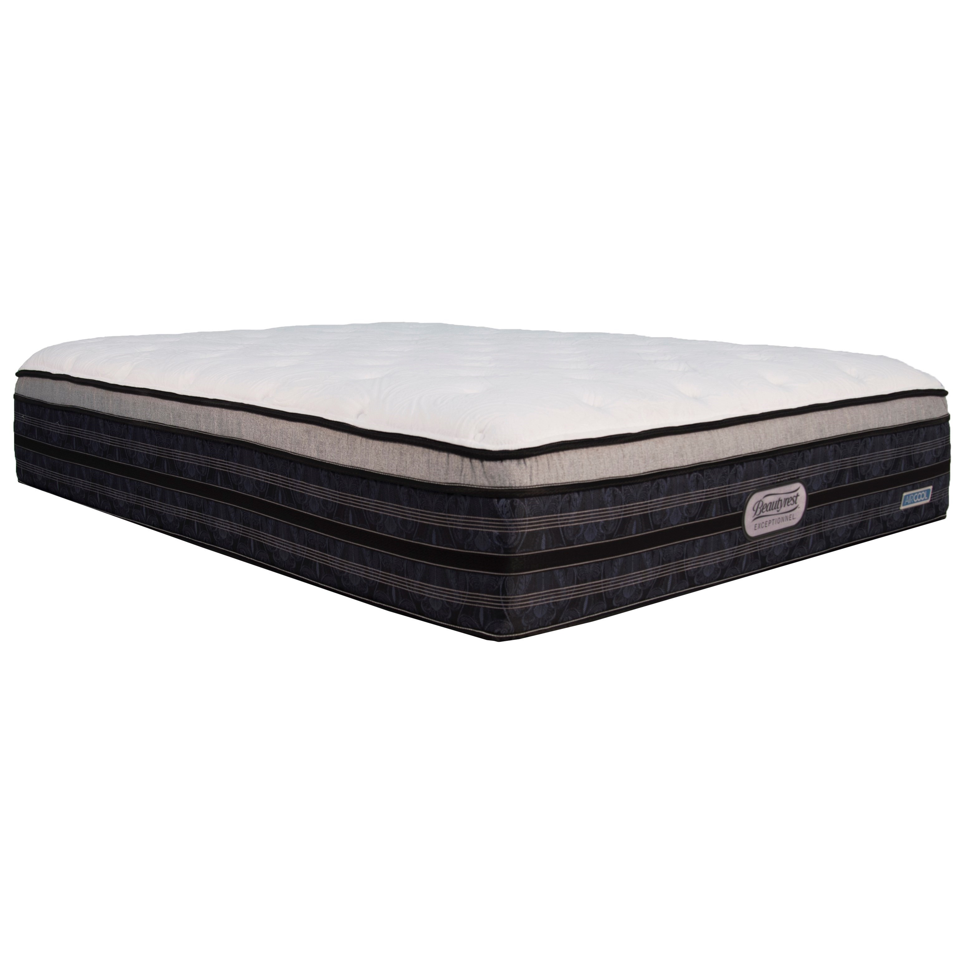 BR Exceptionnel Hewson CT Plush Queen Comfort Top Plush Mattress by Beautyrest Canada at Jordan's Home Furnishings