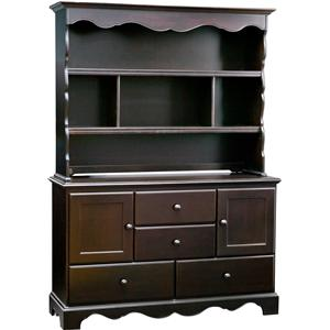 Simmons Kids Cradle Me Combo Dresser and Hutch