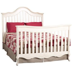 Simmons Kids Cradle Me Convertible Full Size Bed