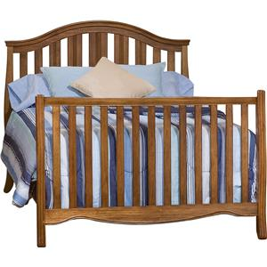 Simmons Kids New London Crib 'N' More With Full Size Bed Rails