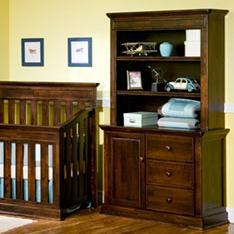 Simmons Kids Sausalito Dresser and Single Hutch