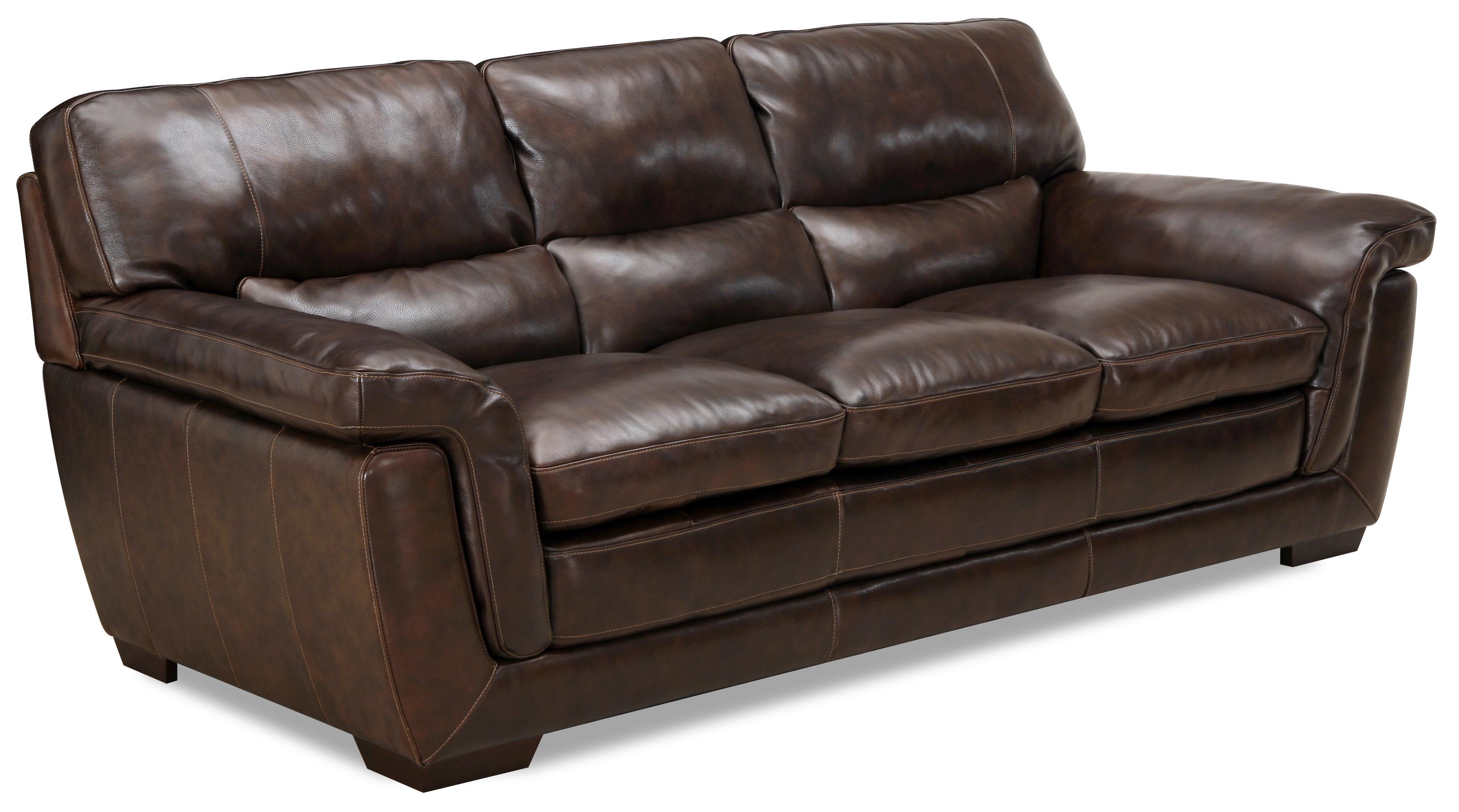 6956 Casual Leather Sofa by Simon Li at Dean Bosler's