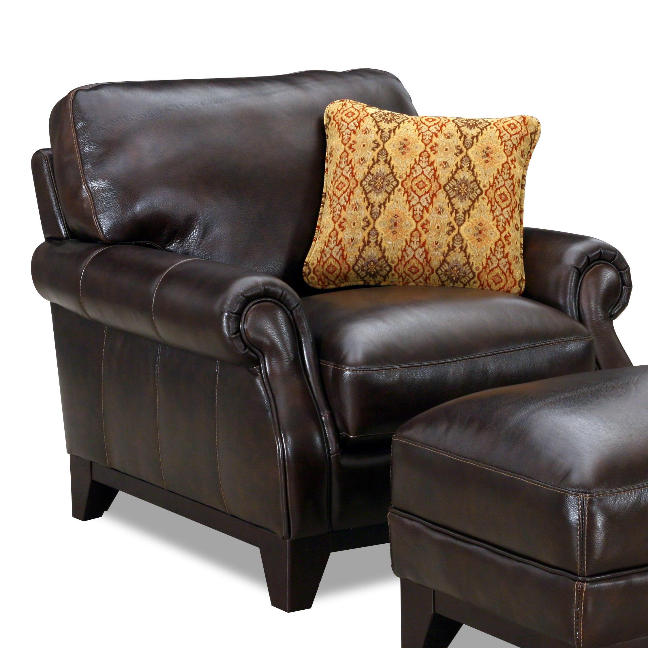 6973 Rolled Arm Chair by Simon Li at Dean Bosler's