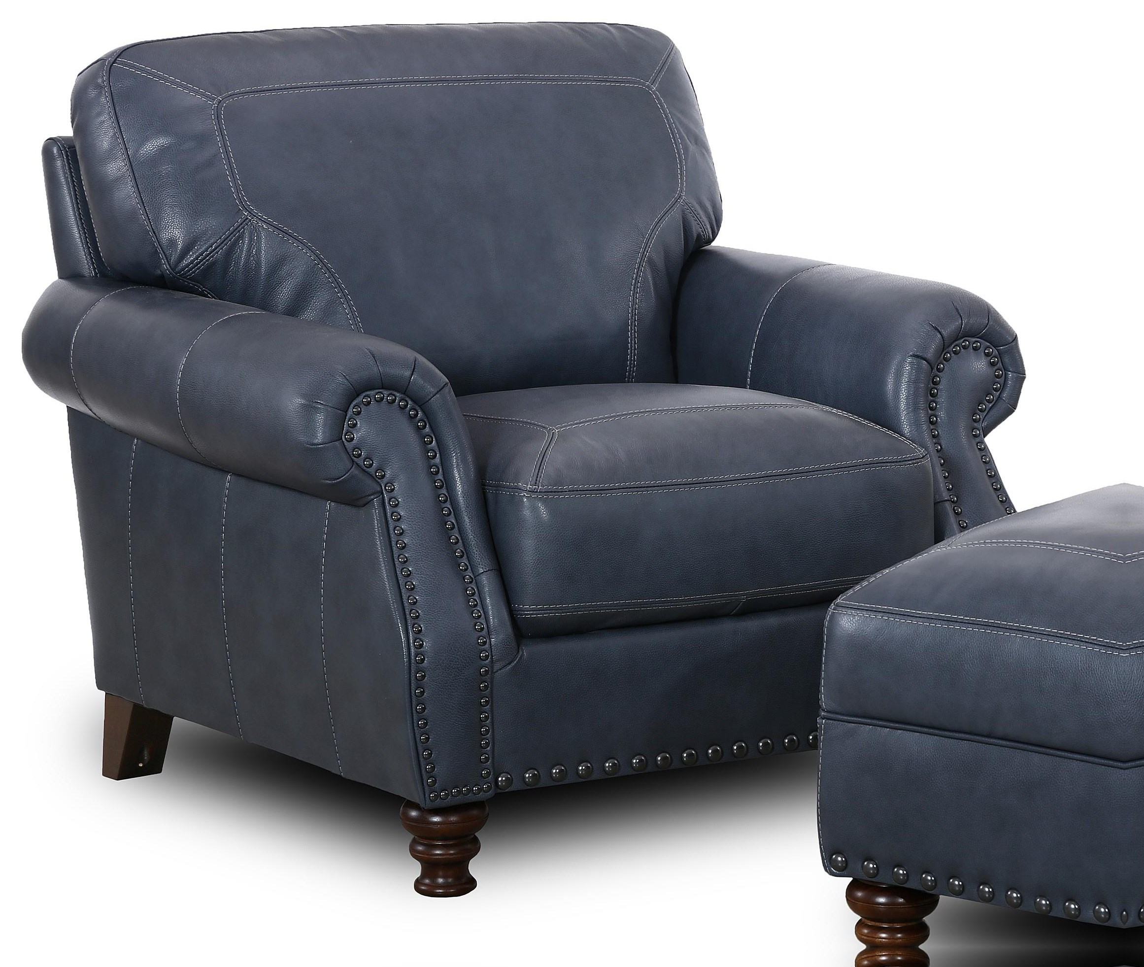 6978 Marine Marine Rolled Arm Chair by Simon Li at Furniture Fair - North Carolina