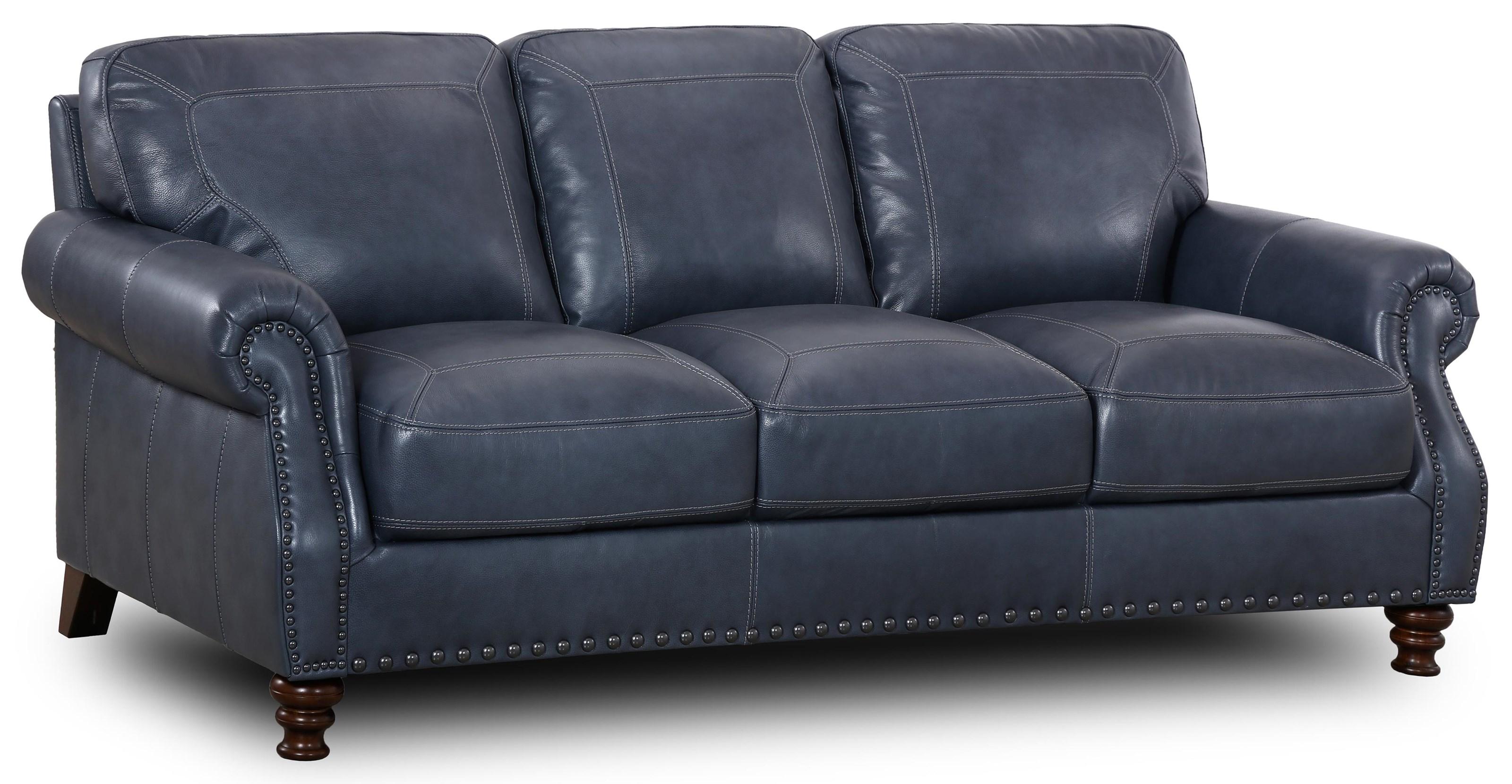 6978 Marine Marine Rolled Arm Sofa by Simon Li at Furniture Fair - North Carolina