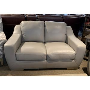 Bowie Leather Loveseat