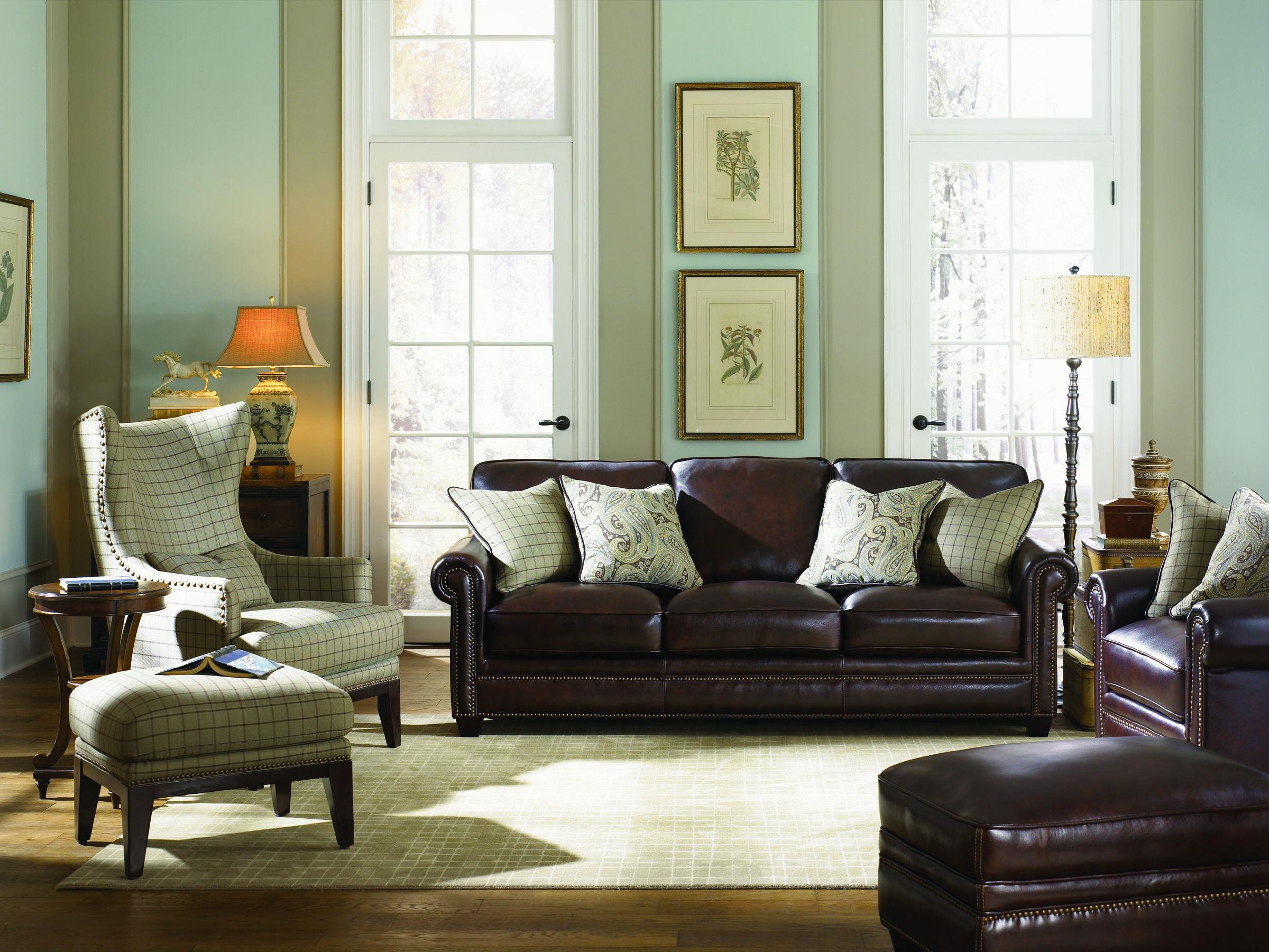 Burke Stationary Living Room Group by Simon Li at Story & Lee Furniture