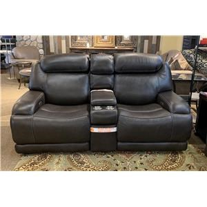 Ferrara Reclining Leather Loveseat