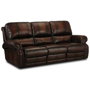 Hillsboro Leather Reclining Sofa