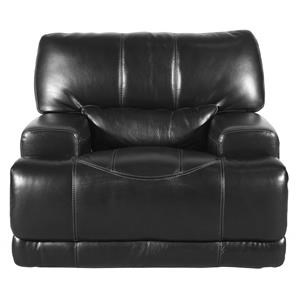 Leather Match Power Recliner