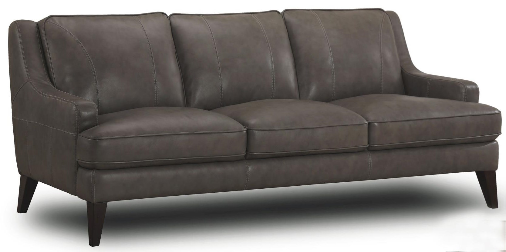 Stallion Leather Sofa at Walker's Furniture