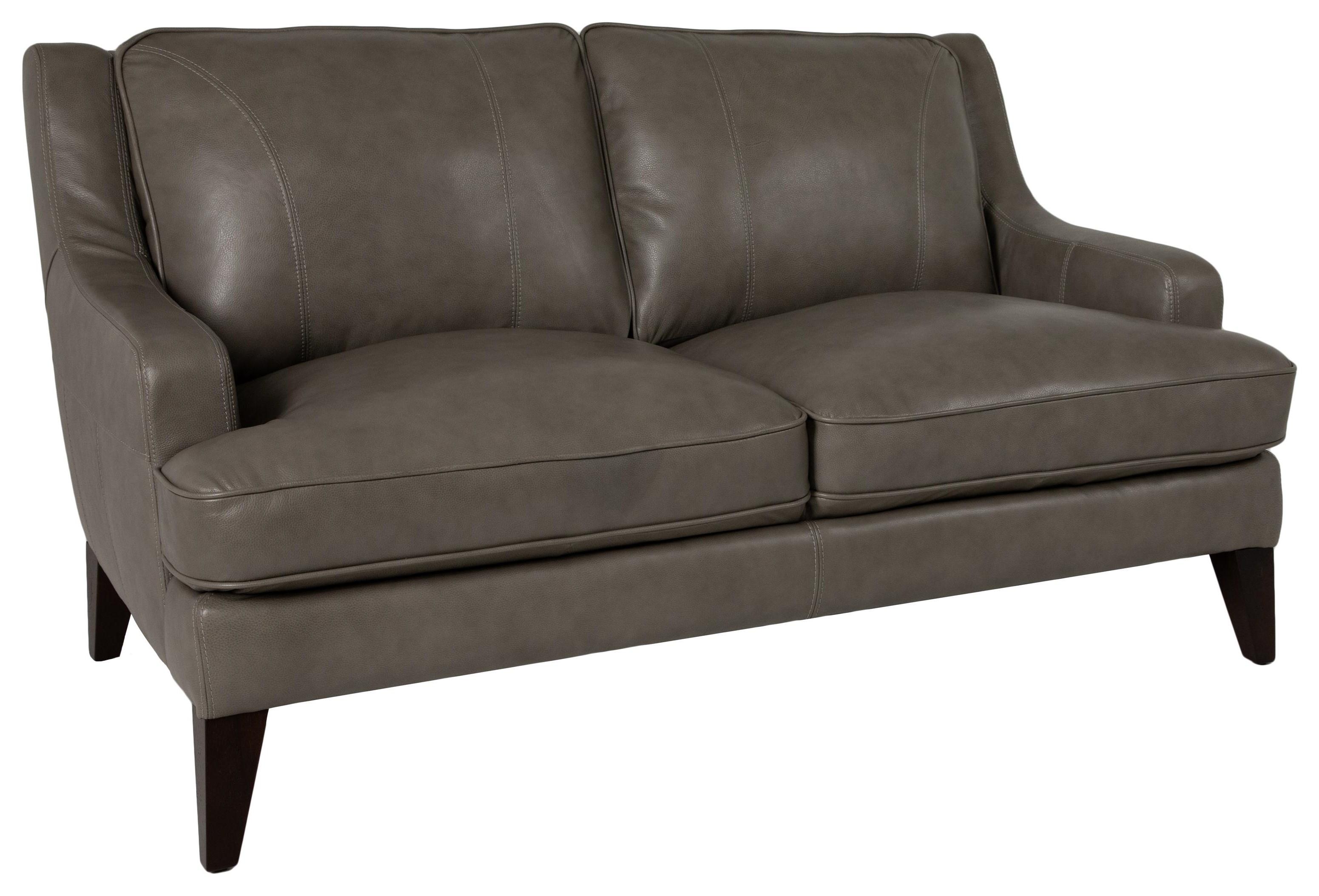 Stallion Leather Loveseat at Walker's Furniture