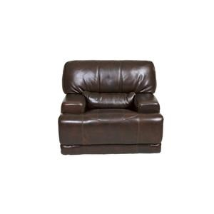 Stampede Leather Reclining Lounge Chair