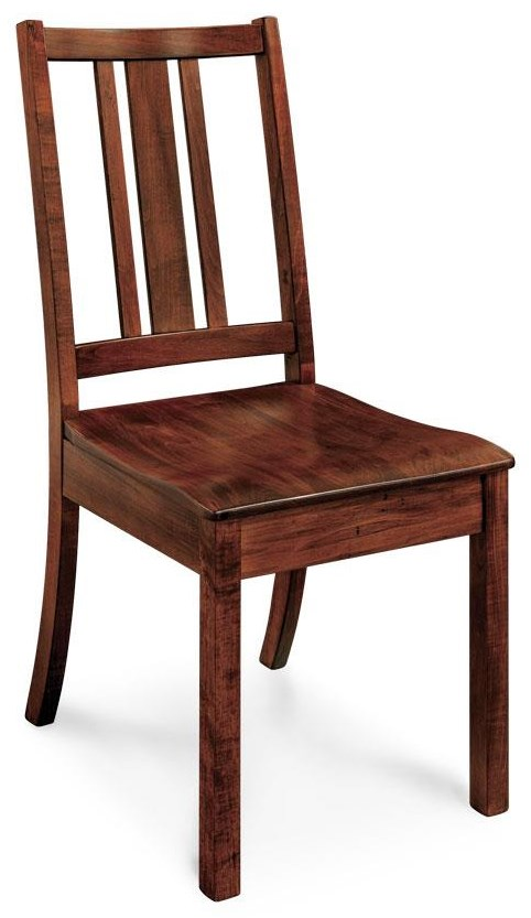 Simply Amish Waveland Side Chair by Simply Amish at Becker Furniture