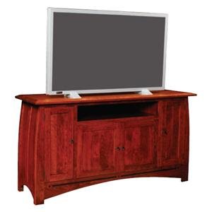 Simply Amish Aspen Game TV Console