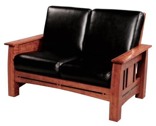 Aspen Loveseat by Simply Amish at Becker Furniture
