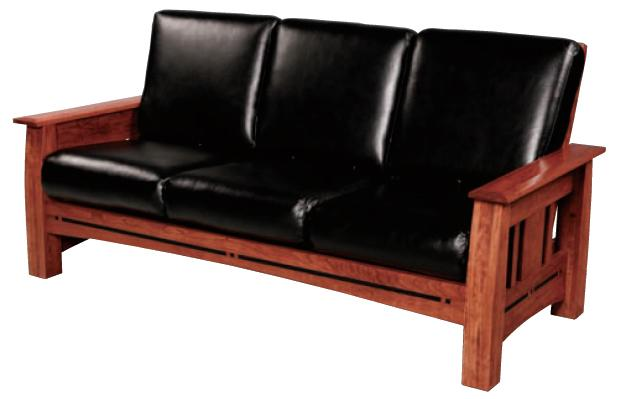 Aspen Sofa by Simply Amish at Becker Furniture