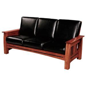 Simply Amish Aspen Sofa