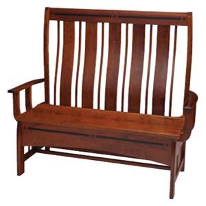 Simply Amish Aspen Storage Bench