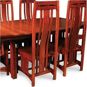 Dining Side Chair w/ Ebony Inlay