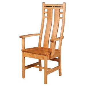 Simply Amish Aspen Colorado Chair
