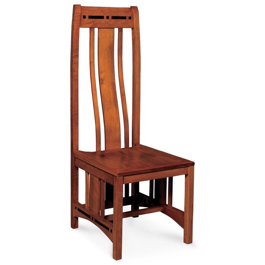 Aspen Dining Side Chair by Simply Amish at Becker Furniture