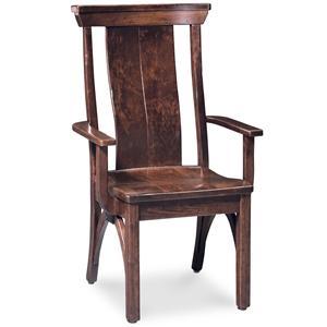 Simply Amish B and O Railroad Trestle Bridge Arm Chair