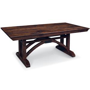 Simply Amish B and O Railroad Trestle Bridge Trestle Table