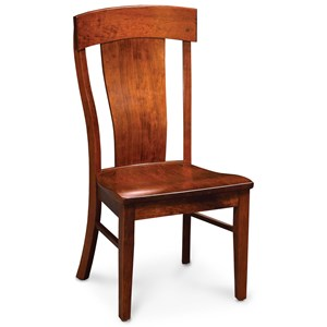 Solid Wood Harlow Side Chair