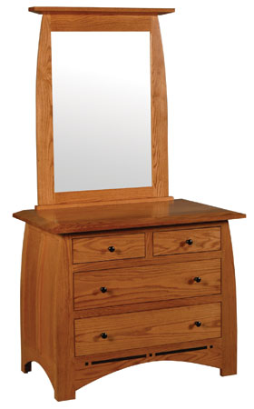 Short Chest and Beveled Mirror
