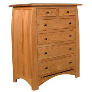 Simply Amish Aspen 6-Drawer Chest