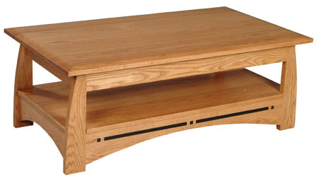 Aspen Coffee Table by Simply Amish at Mueller Furniture