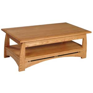 Simply Amish Aspen Coffee Table