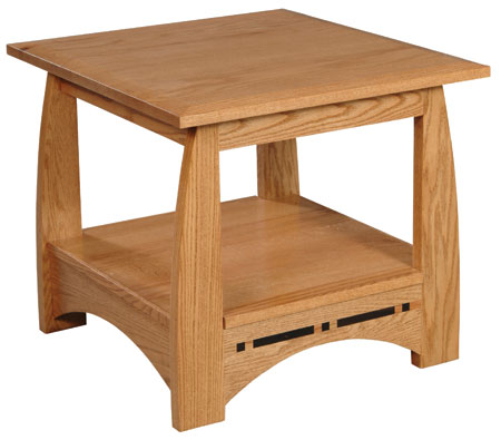Aspen End Table by Simply Amish at Becker Furniture