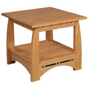 Simply Amish Aspen End Table