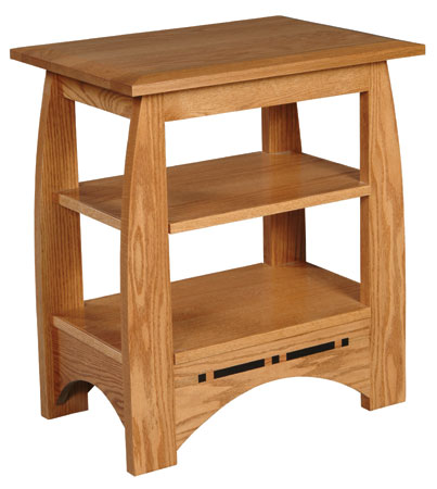 Aspen Telephone Table by Simply Amish at Becker Furniture