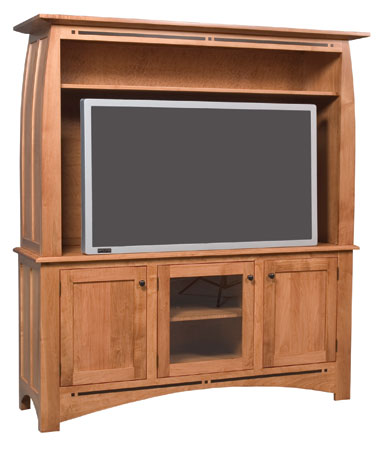 Aspen 2-Piece Widescreen Center by Simply Amish at Becker Furniture