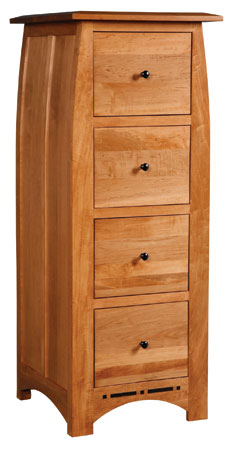 Aspen 4-Drawer File Cabinet by Simply Amish at Becker Furniture