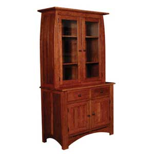 Simply Amish Aspen China Cabinet