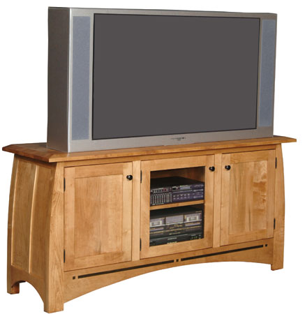 Aspen TV Stand by Simply Amish at Mueller Furniture